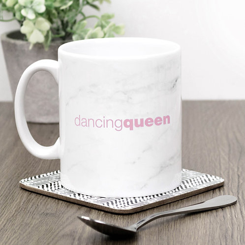 Dancing Queen Marble Effect Mug