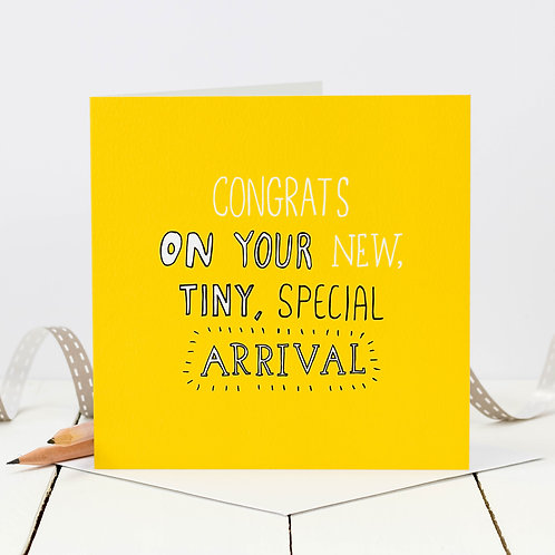 New Baby Doodle Card x 6