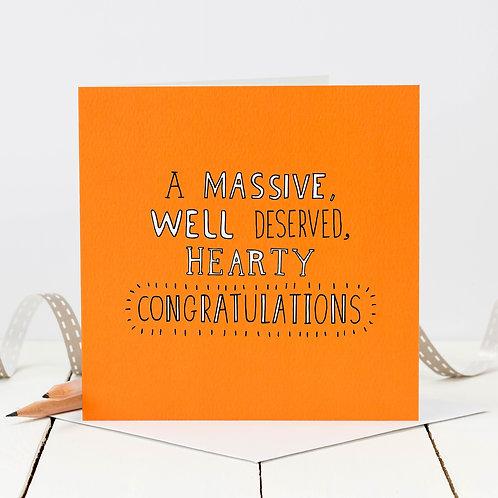 Congratulations Doodle Card x 6