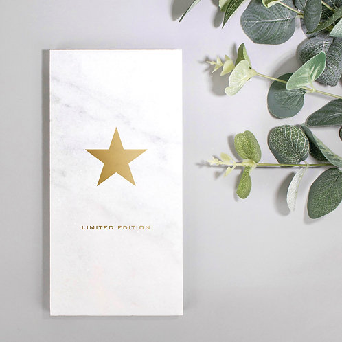 Limited Edition Gold Star Marble Plaque