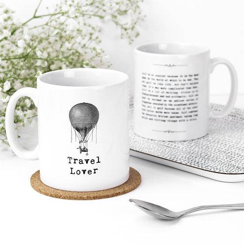 Travel Lover Inspiring Quotes Mug for Explorers