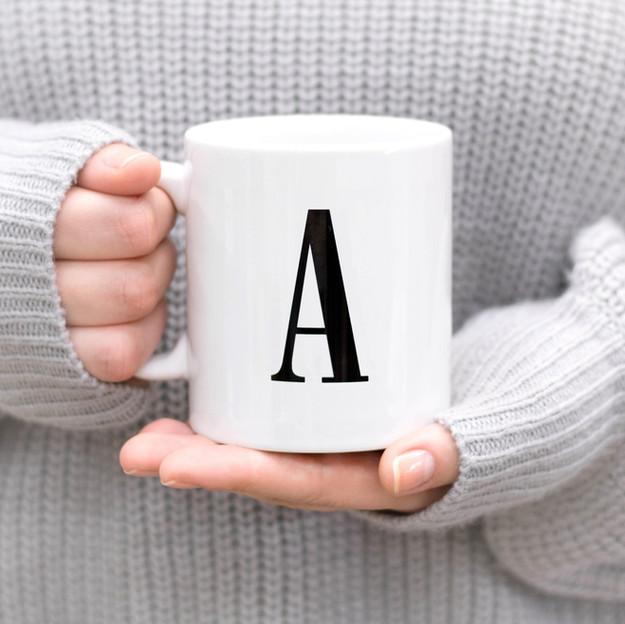 Mono Type Mugs