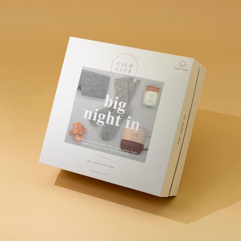 Calm Club Big Night In Gift Box Luckies
