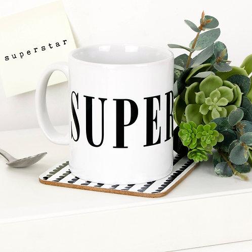 Monochrome SUPERSTAR Mug