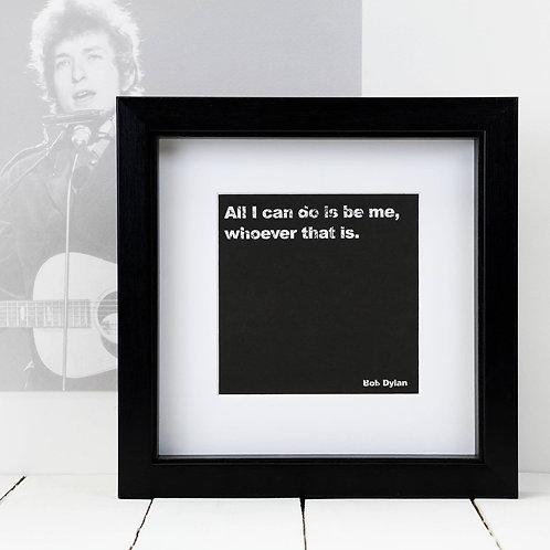 Bob Dylan Square Print x 10 (Mega Discount Bundle £1.75 EACH)