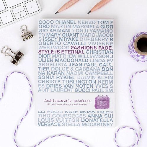 Fashion A6 Notebook x 10 (Mega Discount Bundle 41p EACH)