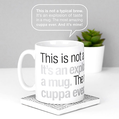 Explosion of Taste | Not a Typical Mug x 3