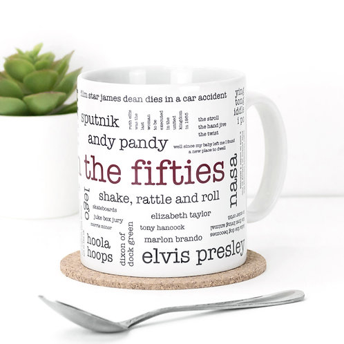 Born in the Fifties Mug x 3