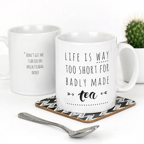 Badly Made Tea | Little Reasons Mug x 3