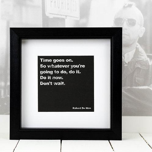 Robert De Niro Square Print x 10 (Mega Discount Bundle £1.75 EACH)