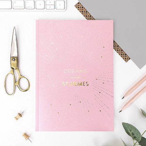 Precious Metals A5 Starburst Notebook x 3