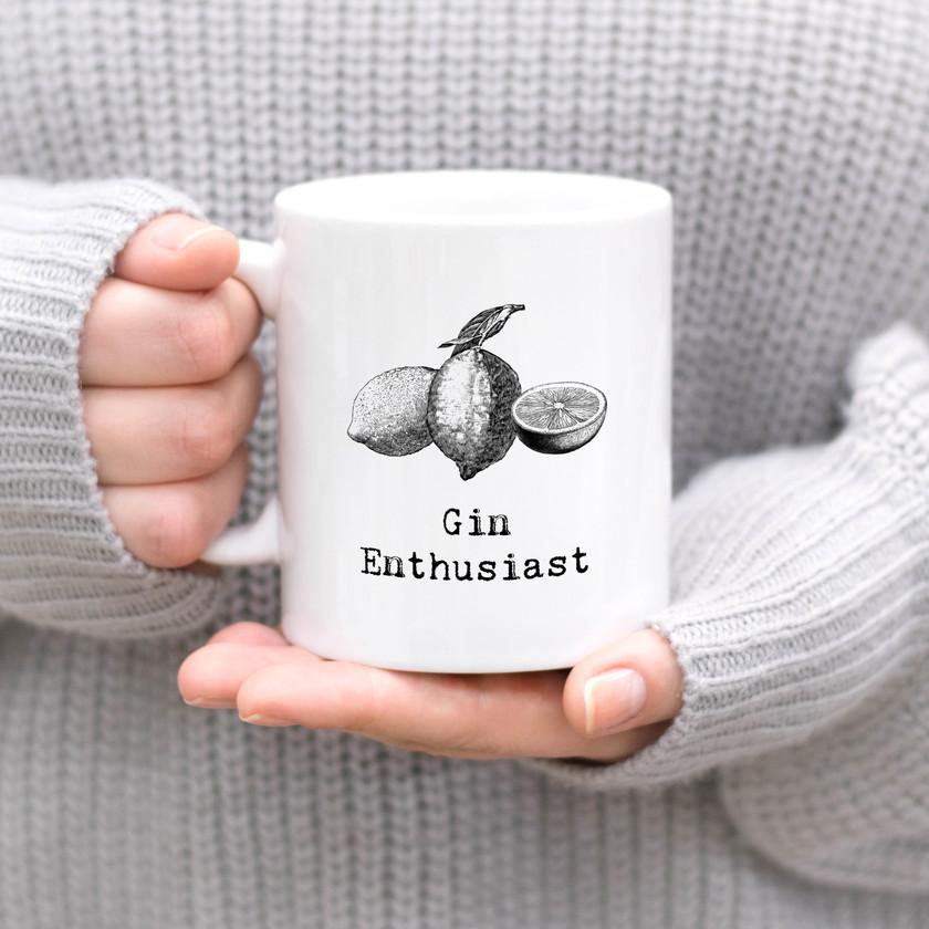 Gin Enthusiast Hot Drink Mug