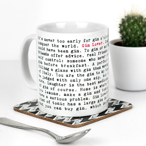 Wise Words FOOD & DRINK Mugs (13 Designs)
