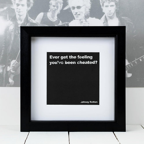 Sex Pistols Square Print x 10 (Mega Discount Bundle £1.75 EACH)