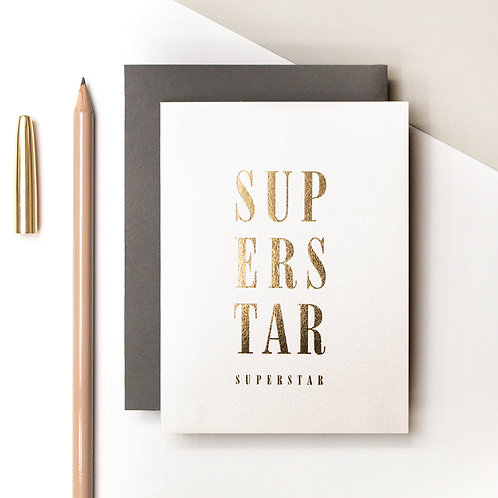 Precious Metals | SUPERSTAR Petite Metallic Card x 6