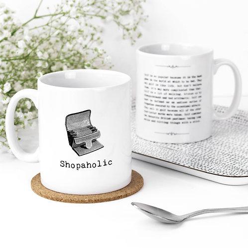 Shopping Quotes Mug for Shopaholics