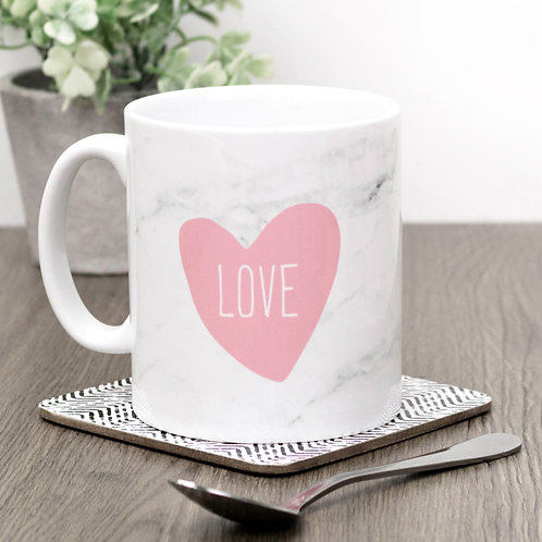 Precious Metals LOVE Mug x 3