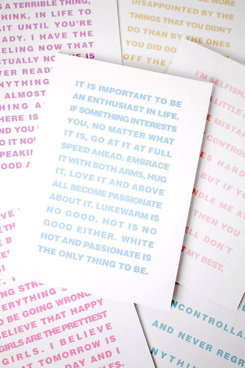 Pretty Pastels Motivational Greeting Card Pack
