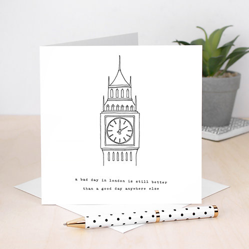 New Home Card City Life London