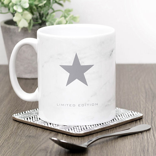 Precious Metals LIMITED EDITION Star Mug x 3