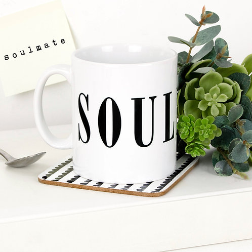 Monochrome SOULMATE Mug