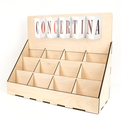 POS Unit for Concertina Cards (Unfilled)
