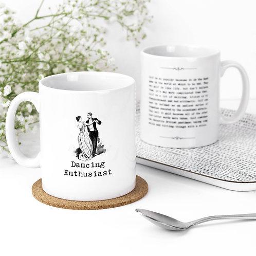 Dancing Quotes Mug for Dancers