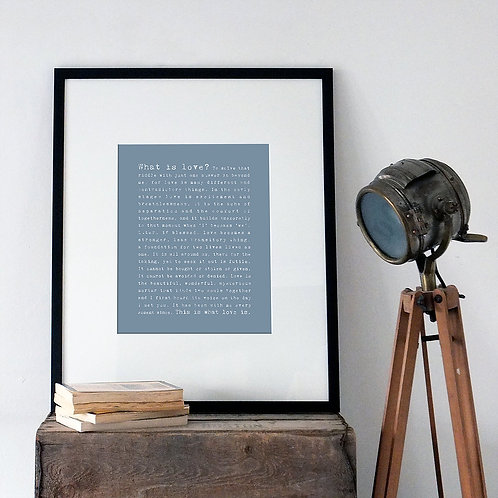 Love A3 Print x 10 (Mega Discount Bundle £1.75 EACH)