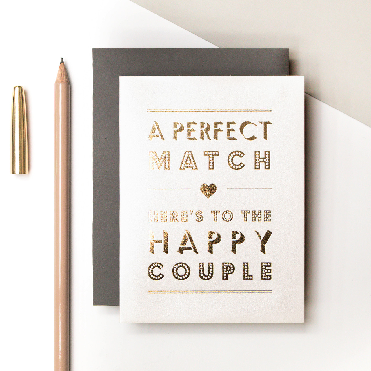 GC736 - Precious Metals - Perfect Match Foil Card