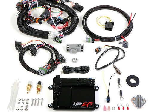 550-604N HP EFI ECU Kit, Universal V8 MPFI Fit NTK