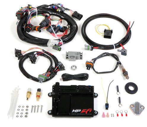550-604 HP EFI ECU & Universal V8 MPFI Harness