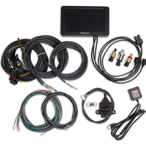 553-109 Holley Stand Alone Digital Dash Kit