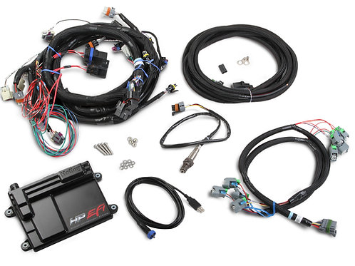 550-603 HP ECU/Harness, LS2, LS3, LS7, USCAR/EV6