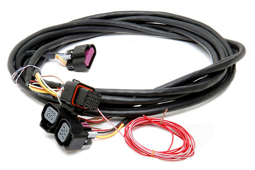 558-411 Dominator EFI GM Dual Drive-By-Wire Harnes