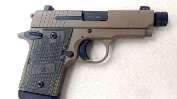 SIG SAUER P938 SCORPION [9MM] (THREADED BARREL)
