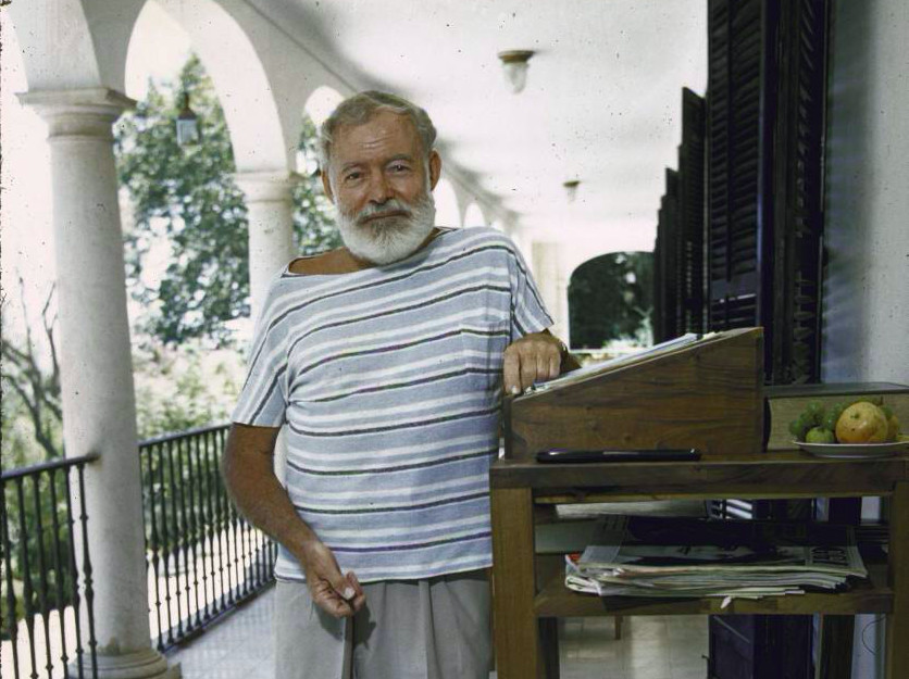 The great Ernest Hemingway would write standing up... you can sit down though