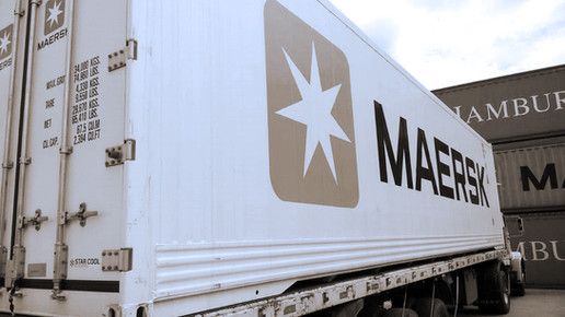 Transporte Container Maersk Reefer High Cube 40'