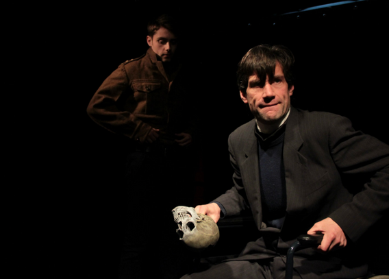"""Playing Wulf in """"Lucifer Saved"""" with Abyss Theatre Company"""