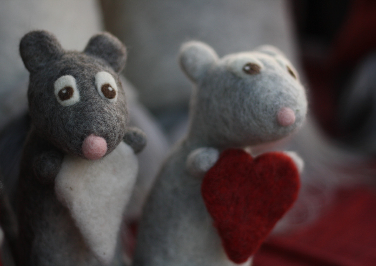 Sydämelliset hiiret