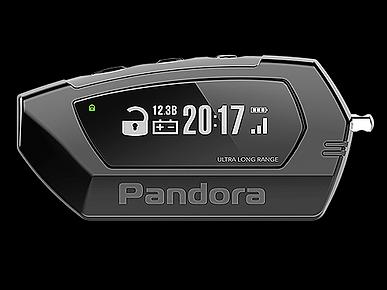 Pandora Car Alarms Light Pro Digital Fob V2