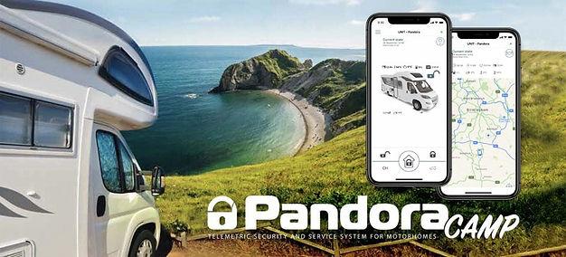 Pandora car alarms camper Campervan secu
