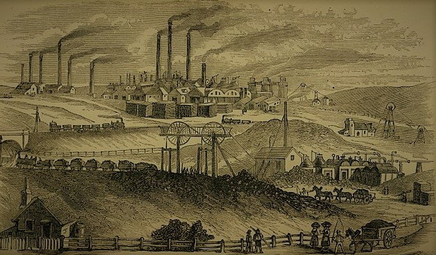 The Black Country in the early 19th century