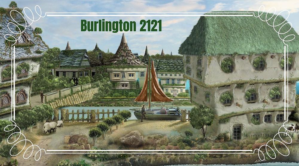 Burlington 2121 by A. Marshall