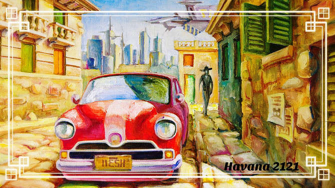 Havana in 2121: When? (And the Art of Car Maintenance)