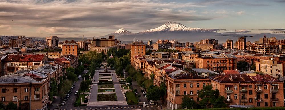 Yerevan nowadays