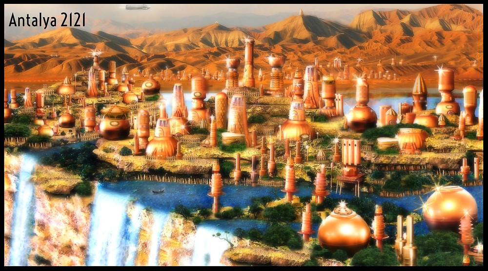 Antalya 2121 by A.Marshall