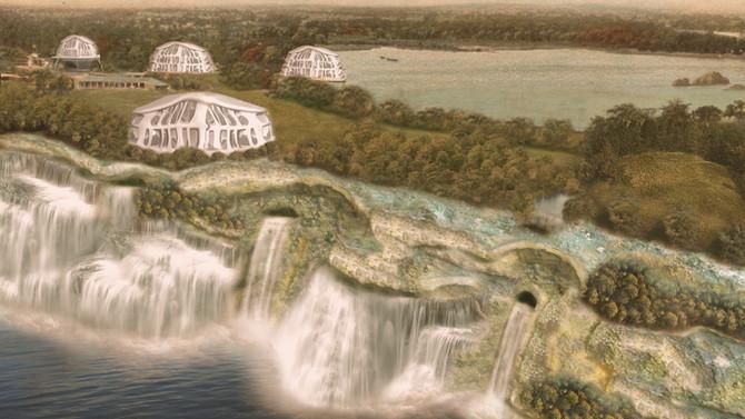 Varna 2121 -- An Incorruptible Garden Utopia