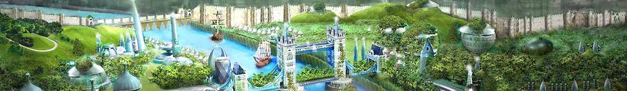 Londre 2121 - extrait du site Ecotopia2121