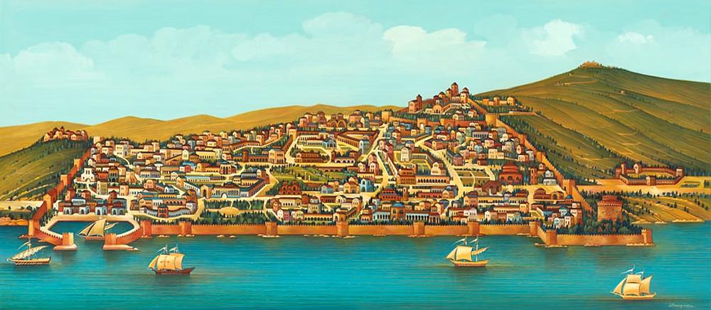 Byazantine port