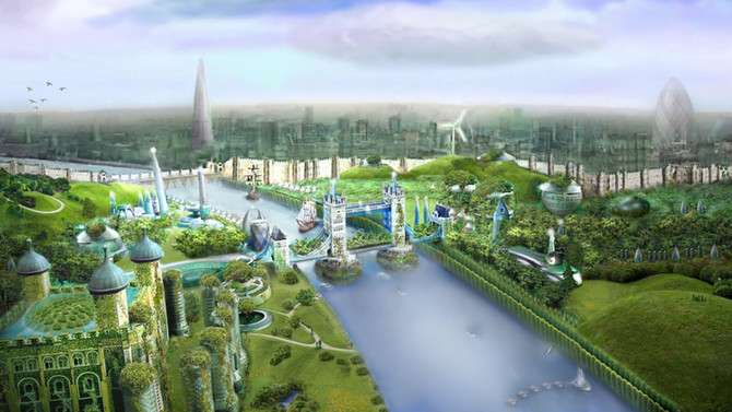 London 100 years from now...